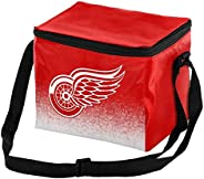 FOCO Gradient Lunch Bag Cooler Detroit Red Wings NHL 6 Pack, Team Color, One Size