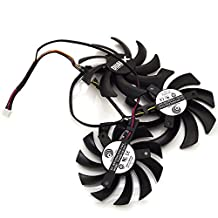 Replacement Video Card Cooling Fan For R9 270X R9 280X R9 290X Vapor-X OC TOXIC Graphics Card Fan PLD09210D12HH/PLD08010S12HH 12V 0.4A 85mm 4 Pin