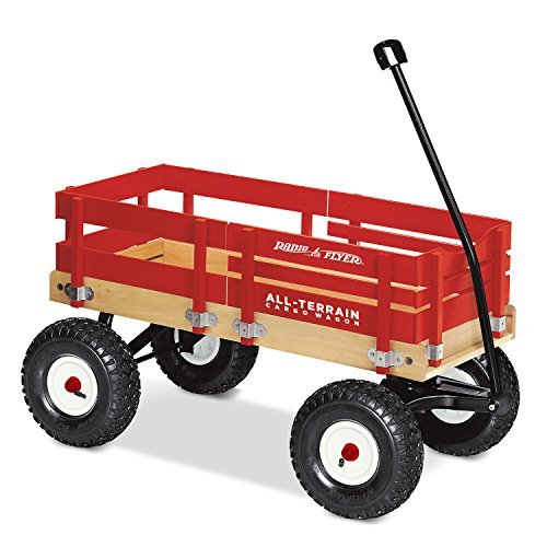 Radio Flyer All-terrain Cargo Wagon Ride-on, Wagon for Kids