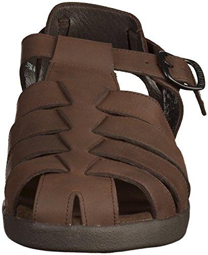Mephisto P1606136 Mens Sandals Dark Brown AIS8Re