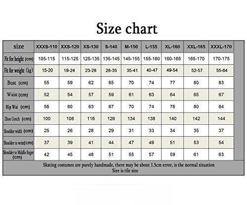 Women's Long Dress Breathable Spandex Performance Girls' Leisure Sleeves Stretch TT Skating XXXXXFigure Skating xs Wear Skating Sports amp;HUAXUE Ice Dress wzzP8AIx