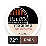 Tullys Coffee French Roast Keurig Single-Serve K-Cup Pods, Dark Roast Coffee, 72 Count (6 Boxes of 12 Pods) ( Pack May Vary )