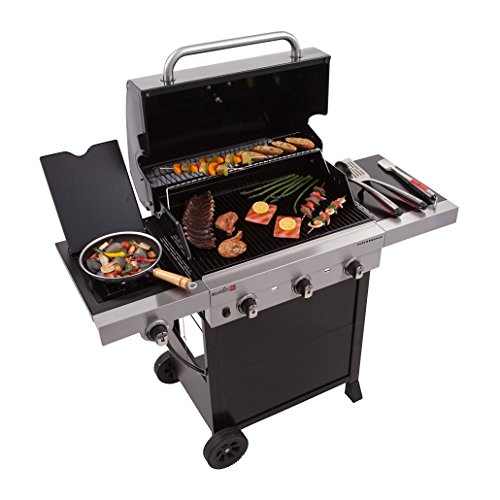 Infrared 3-Burner Cart Liquid Propane Grill