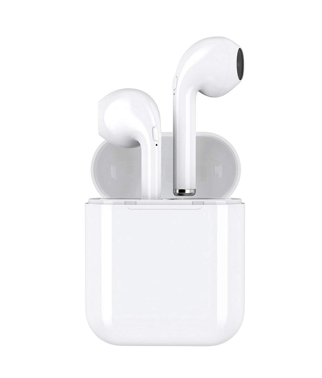 422adfbfa22 Headset Wireless Headset Bluetooth Headset, i8x with Headset Microphone and  Charging Box, in-Ear Mini Headset, Compatible with iPhone X 8 7 Plus Plus  ...