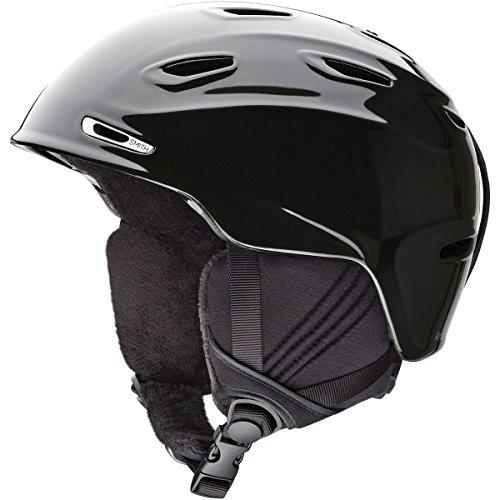 Smith Optics Arrival Adult Ski Snowmobile Helmet - Black Pearl / Medium
