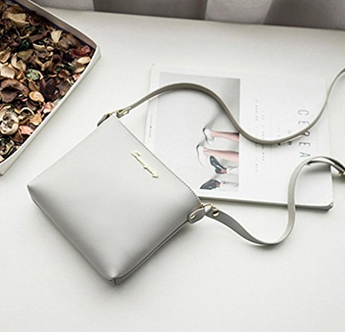 Shoulder Purse Bag Fashion Gray Crossbody Messenger Phone Bag Clearance Bag Women Coin Bag tIq14AwwZ