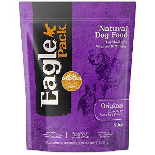 Eagle Pack Natural Dry Dog Food, Lamb & Rice, 6-Pound Bag ()