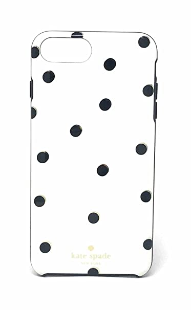 the latest dddac e245e Kate Spade New York Scattered Pavillion Protective Rubber Case for iPhone 8  Plus/ iPhone 7 Plus / iPhone 6s Plus / iPhone 6 Plus - Gold/Cream/Black