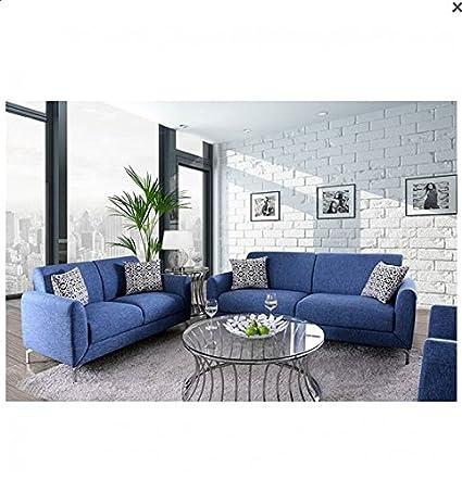 Amazon.com: Esofastore Simple Contemporary Sofa Loveseat ...