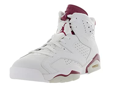 more photos b7f9c fbb3c Nike Herren Air Jordan 6 Retro Turnschuhe, Blanco Rojo (Off White New