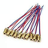 Product review for UEETEK 10pcs 5 Volt 5mW 650nm Red Dot Laser Diode Module Heads