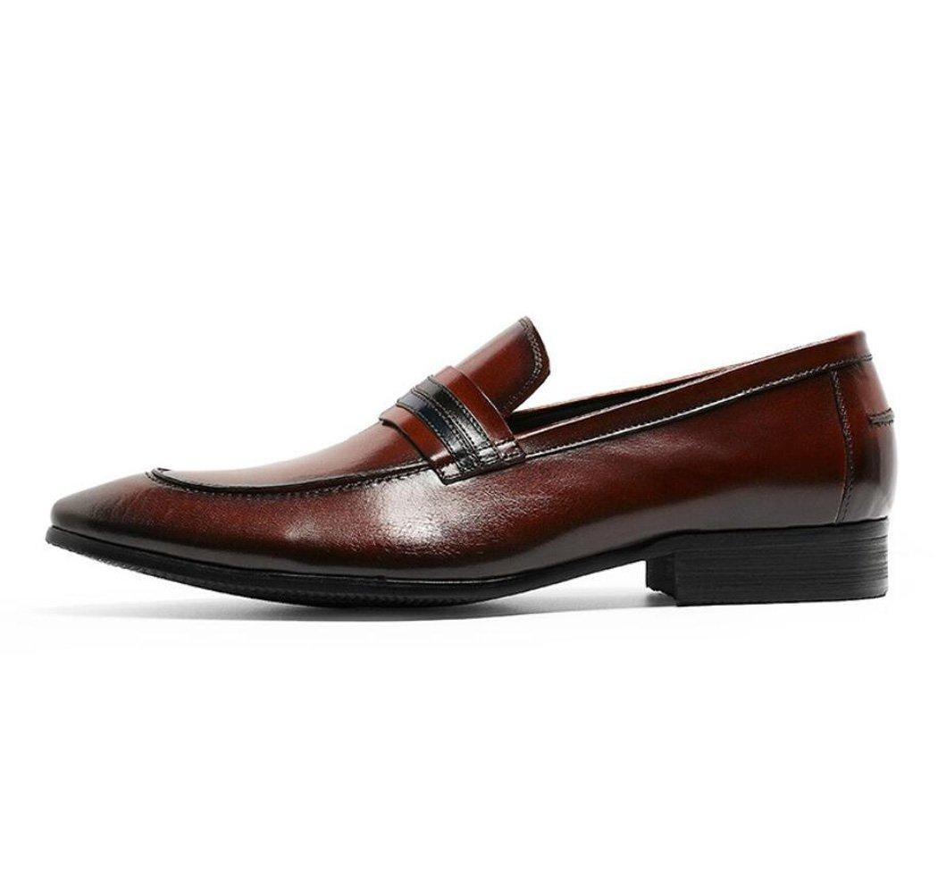 GDXH Mens Loafers Brogues klassischen Stil Formale Schuhe Schuhe Schuhe Gentleman Freizeit Anzug Business Schuhe Formale Schuhe d902ac