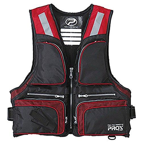 [해외]プロックス 플로팅 조끼 성인용 기저귀 L 사이즈 PX975LKR 블랙레드 L / Prox Floating Vest Adult L Size PX975LKR Black Red L