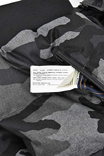 Uomo Giaccone Jacket Camouflage Men's Giacca Woolrich Reversable TE0qwI