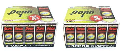 Tennis Balls - 40 Cans - 120 Balls - Championship Extra-Duty