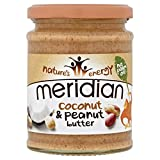Meridian Coconut & Peanut Butter - 280g (0.62lbs)