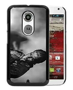 Sons Of Anarchy Jax Teller Charlie Hunnam Black Fantastic Unique Cusstomized Motorola Moto X 2nd Generation Case