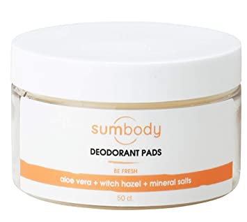 Sumbody Be Fresh Body Deodorant Pads