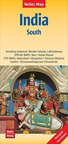- India South nel.map Goa-Bangalore-Chennai-Andaman by Nelles Verlag (2015-12-13)