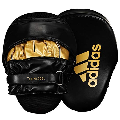 adidas FLX 3.0 Pro Focus Mitts, Black/Gold