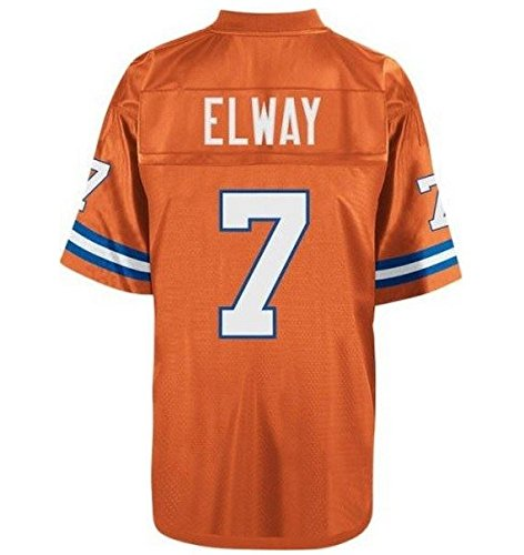 John Elway Denver Broncos Orange Throwback Jersey X-Large