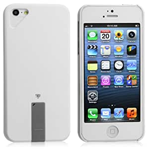Chromo Inc. Apple iPhone 5 SLIM Premium Hard Case Executive Series Travel Case With 4GB Removable Flash Drive - White