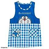 Sanrio Doraemon orchid type apron check I'm DORAEMON From Japan New