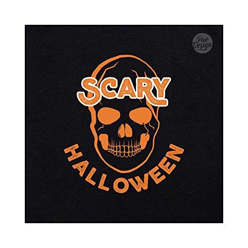 Party Halloween Pd1518a Skull Donna Black Pacdesign Horror Felpa qtHO6O