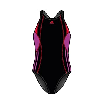 adidas badeanzug schwarz türkis