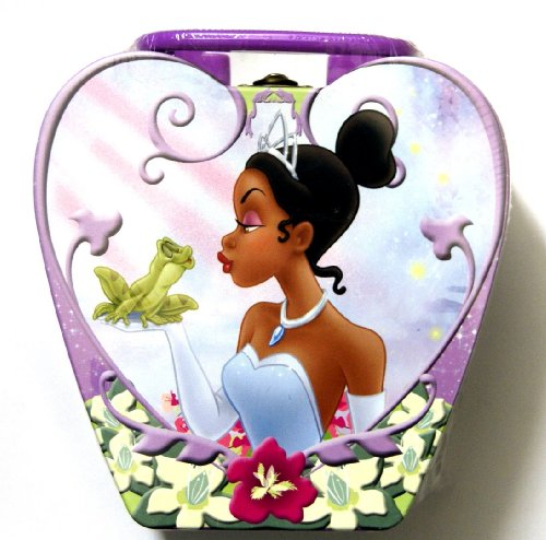 DISNEY PRINCESS Heart Shaped Tin Box Puzzle The Princess and the Frog PUZZLE 150 Piece (Picture May Vary in each assortment) Tin Frog