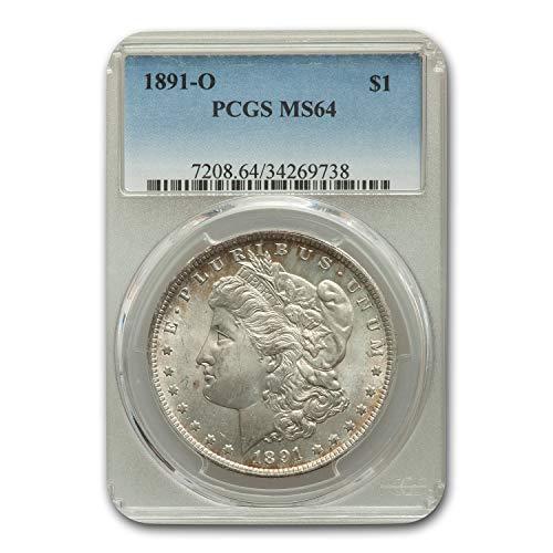 1891 O Morgan Dollar MS-64 PCGS $1 MS-64 PCGS