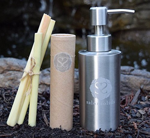 salonsolids lemongrass shampoo granules by salonsolids hair care