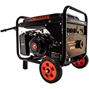 TWG210A EPA 15 HP Gas Powered Portable 2,000 Watt Generator with 210 Amp Welder Combo