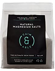 Caim & Able Magnesium Flakes Bulk 2kg - Pure Unscented Natural Chloride - Australian Made Bath Salts - Magnesium Supplement Bag for Transdermal Topical Skin Therapy Spa Foot Body Soaks Epsom Salts