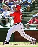"""Shin-Soo Choo Texas Rangers 2015 MLB Action Photo (Size: 8"""" x 10"""")"""