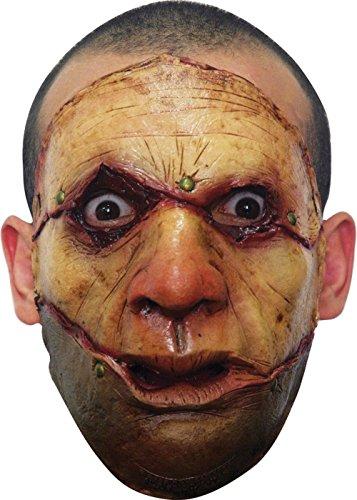 [Serial Killer Latex Face Mask] (Serial Killer Halloween Costume)