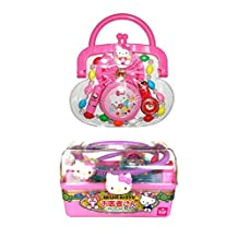 Two Hello Kitty Products - Dr. Case with Medical Supplies and Purse with Accessories