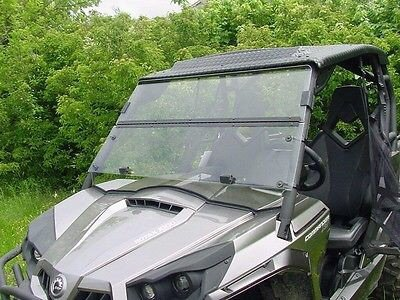2017-2019 A/&S AUDIO AND SHIELD DESIGNS TEXTRON STAMPEDE EPS 900,4,4X,X 1//4 POLYCARBONATE FOLD DOWN WINDSHIELD