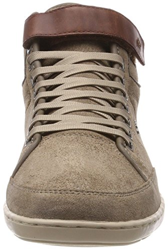 A Mnk Marrone silver Uomo Alto Collo Swich Boxfresh Blok Sneaker Svr Mink qnwUU6Rt