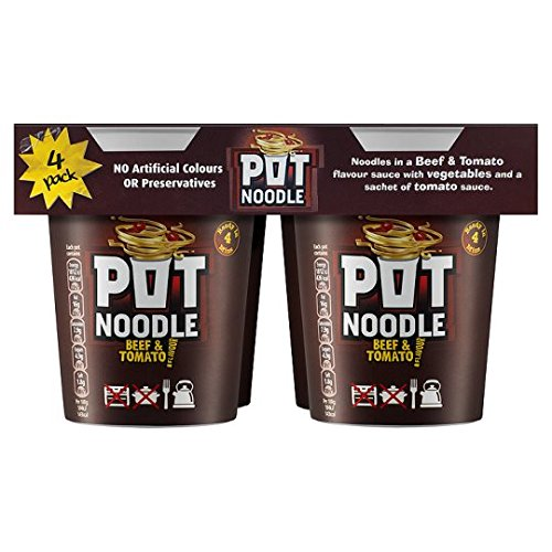 Pot Noodle Beef And Tomato 4 -