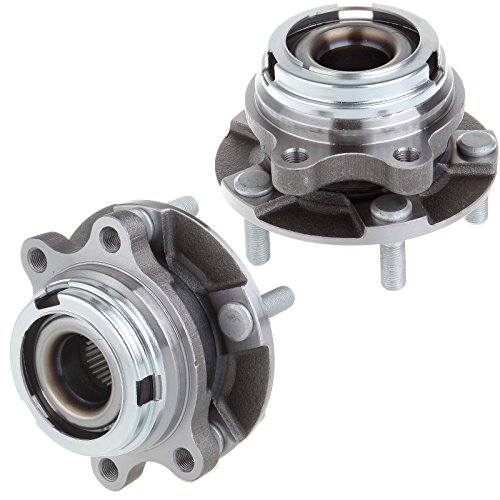SCITOO Pair 2 NEW Front Wheel Hub Bearing Assembly fit 2007-2012 Nissan Altima 2.5L 4Cyl