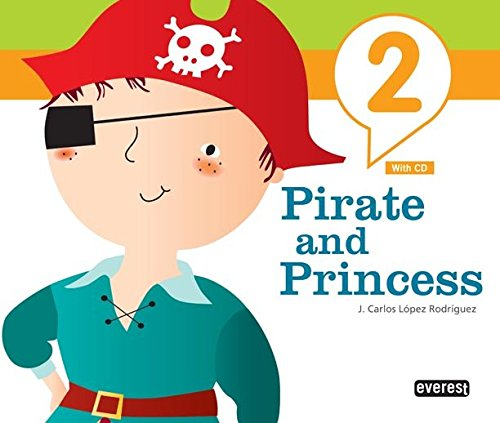 Inglés Pirate and Princess 4 años: 9788444172583: Amazon.com ...