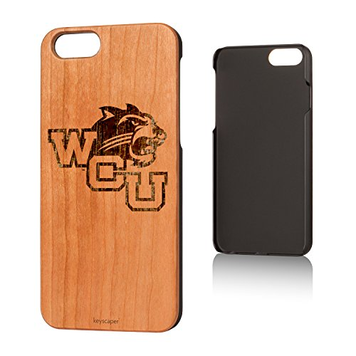 University Cherry Wood (Western Carolina University Cherry Wood iPhone 6 / iPhone 6s Case NCAA)