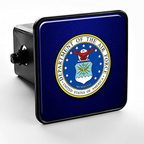 Air Force Seal Department - ExpressItBest Trailer Hitch Cover - US Department of The Air Force, Seal