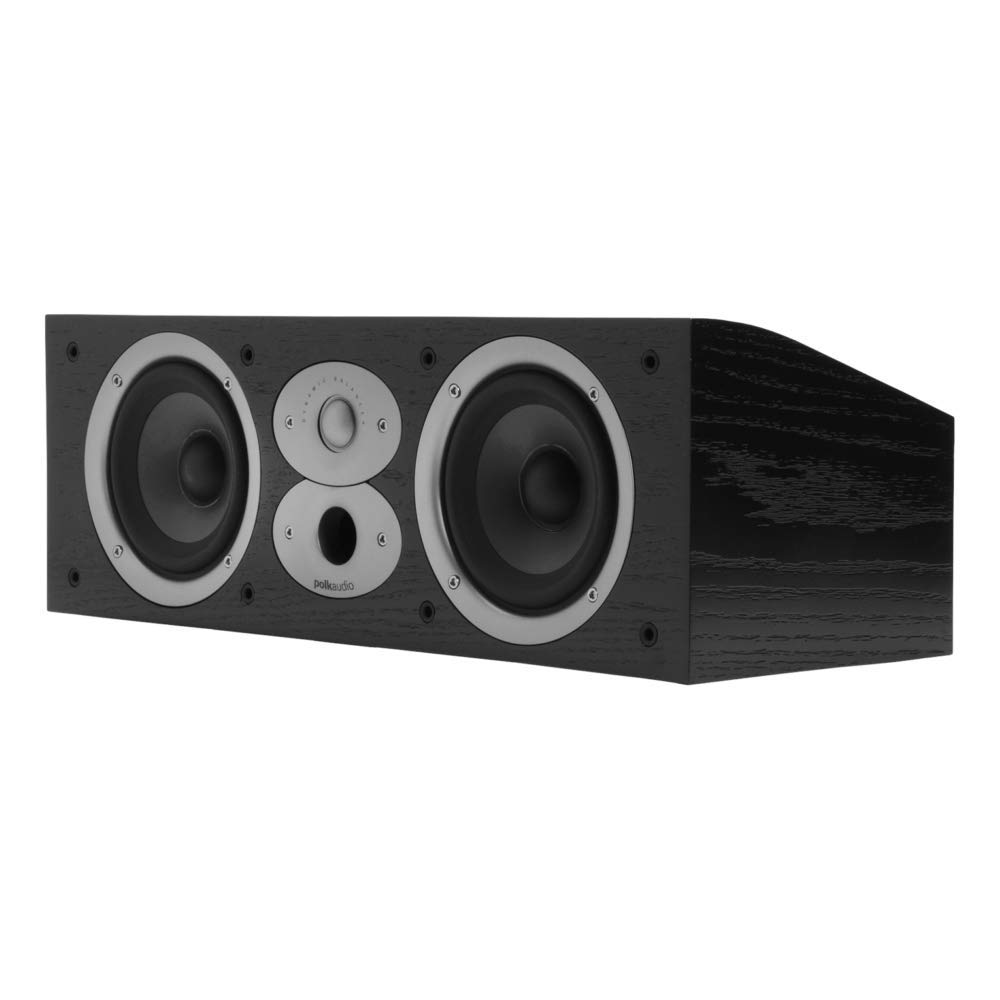 Polk Audio CSI A4 Center Channel Speaker (Single, Black) by Polk Audio