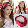 Elastic Headbands Cotton Twisted Cross Head Wrap Hair Band head Accessories