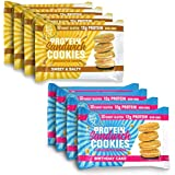 Protein Sandwich Cookies - 12 Grams of Whey Protein Snacks, Gluten Free, Non-GMO (New Variety Pack, 8 Count)