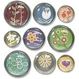 Quartet Bubble Push Pins, Assorted Designs (79225)