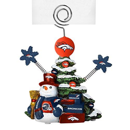 NFL Denver Broncos Tree Photo Holder