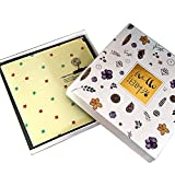 diy couple sticker handmade family album / baby child growth book / travel diary (26 26 3.5cm) ( Color : B )